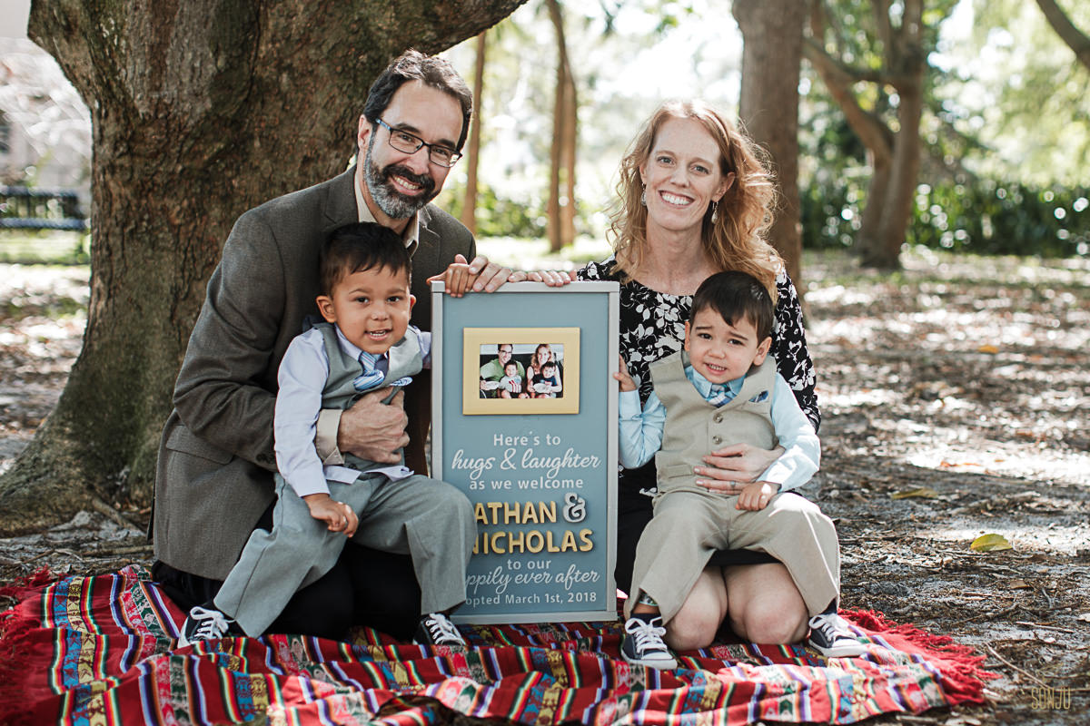 Broward County Adoption Photography