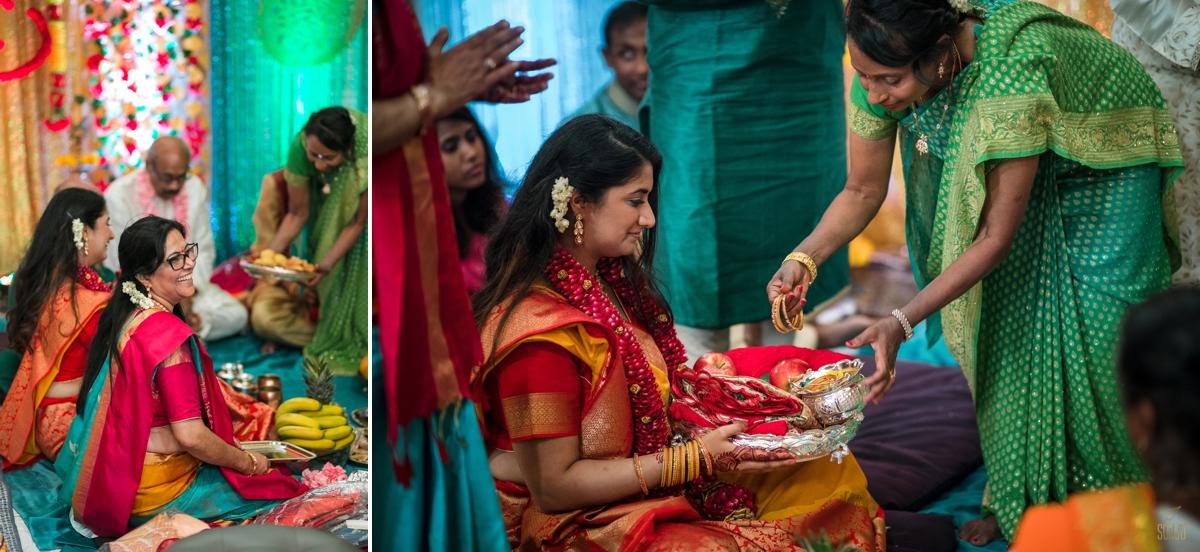 Indian-bride-engagement-ceremony-sarasota-florida