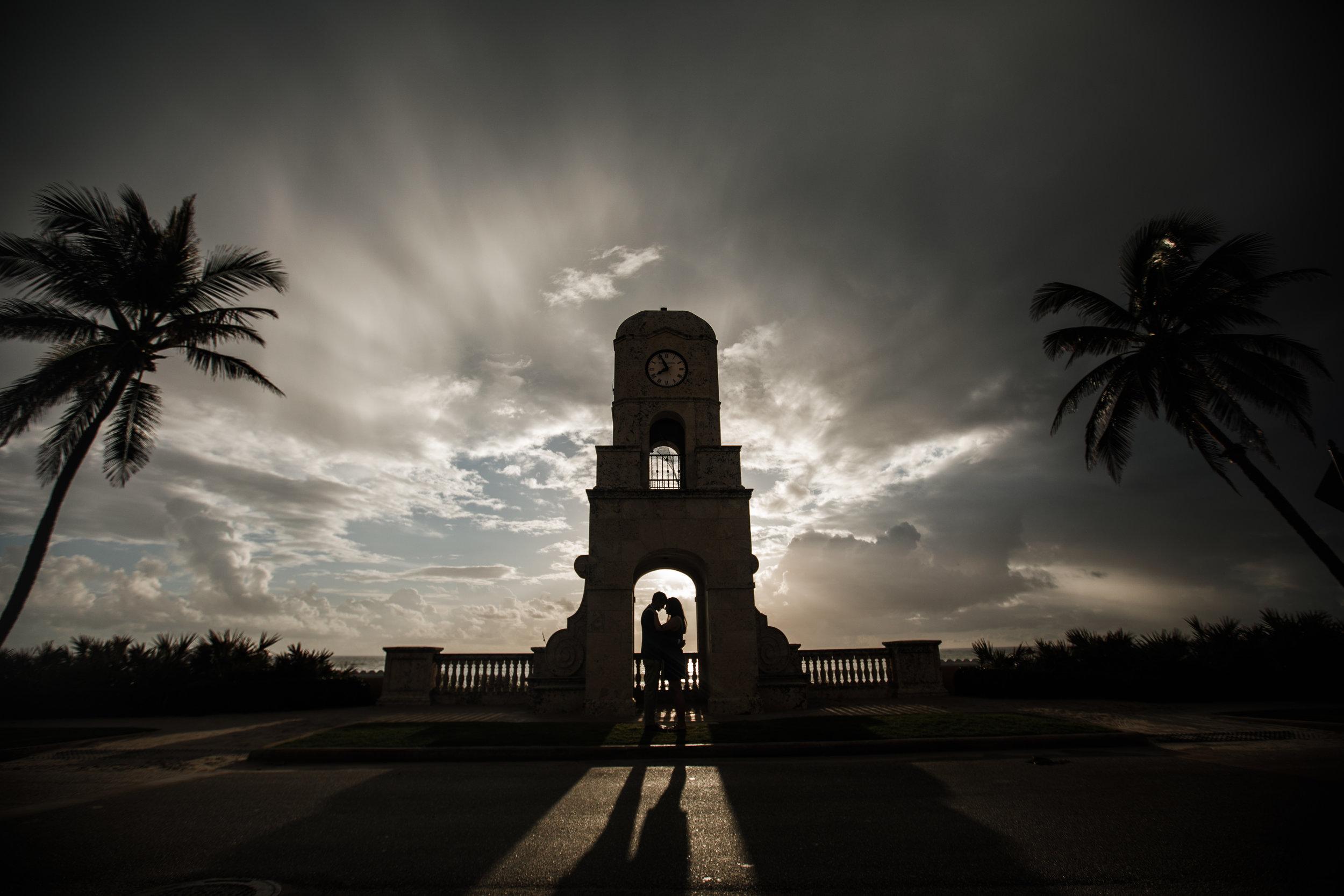 West-palm-florida-proposal-photographer-clock-tower