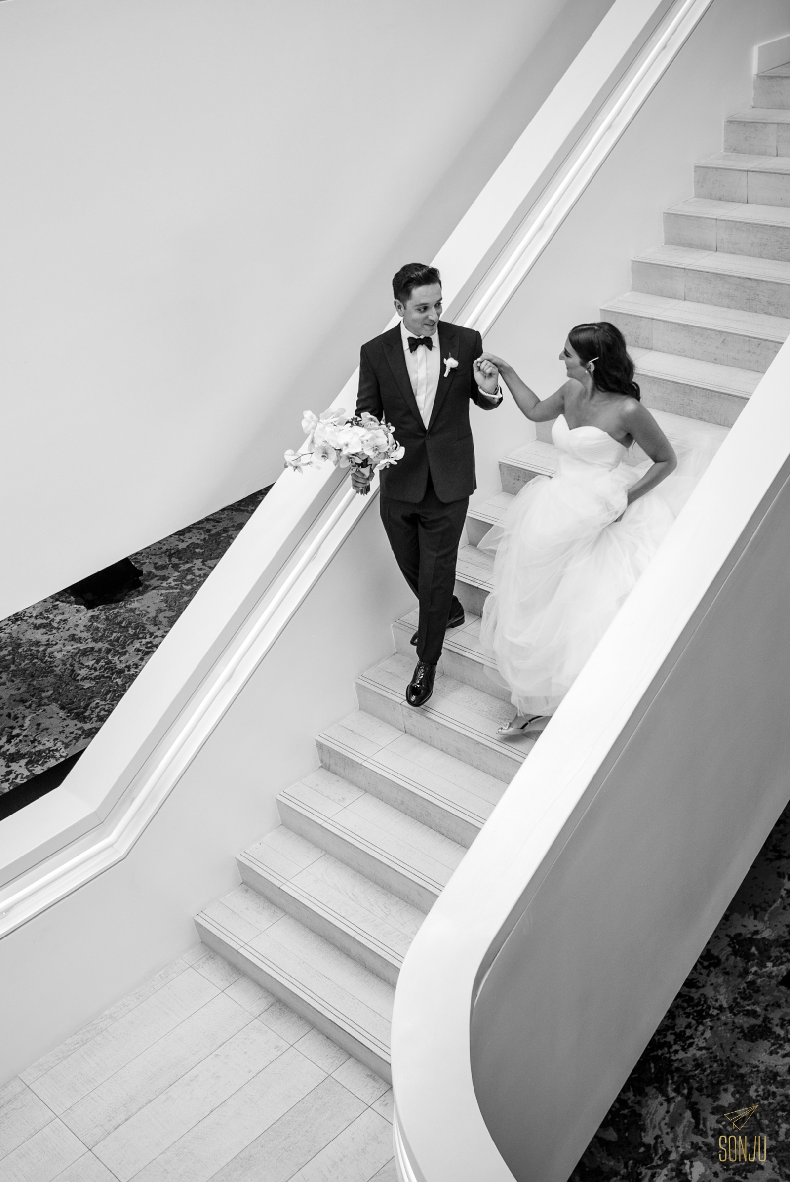 Wedding-at-the-W-Fort-Lauderdale-Staircase