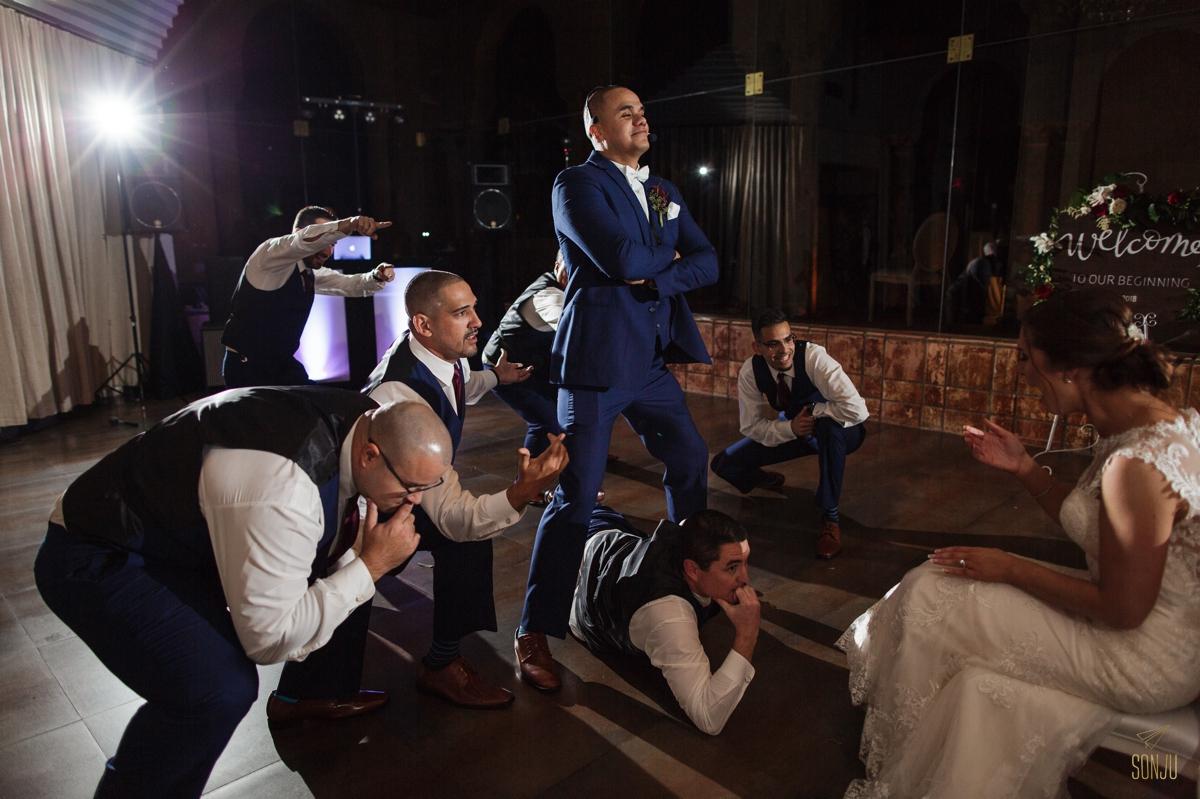 surprise-dance-by-groom-for-bride-at-miami-wedding-venue