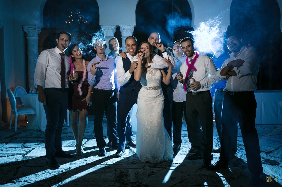 Cigar-shot-at-Miami-wedding-venue