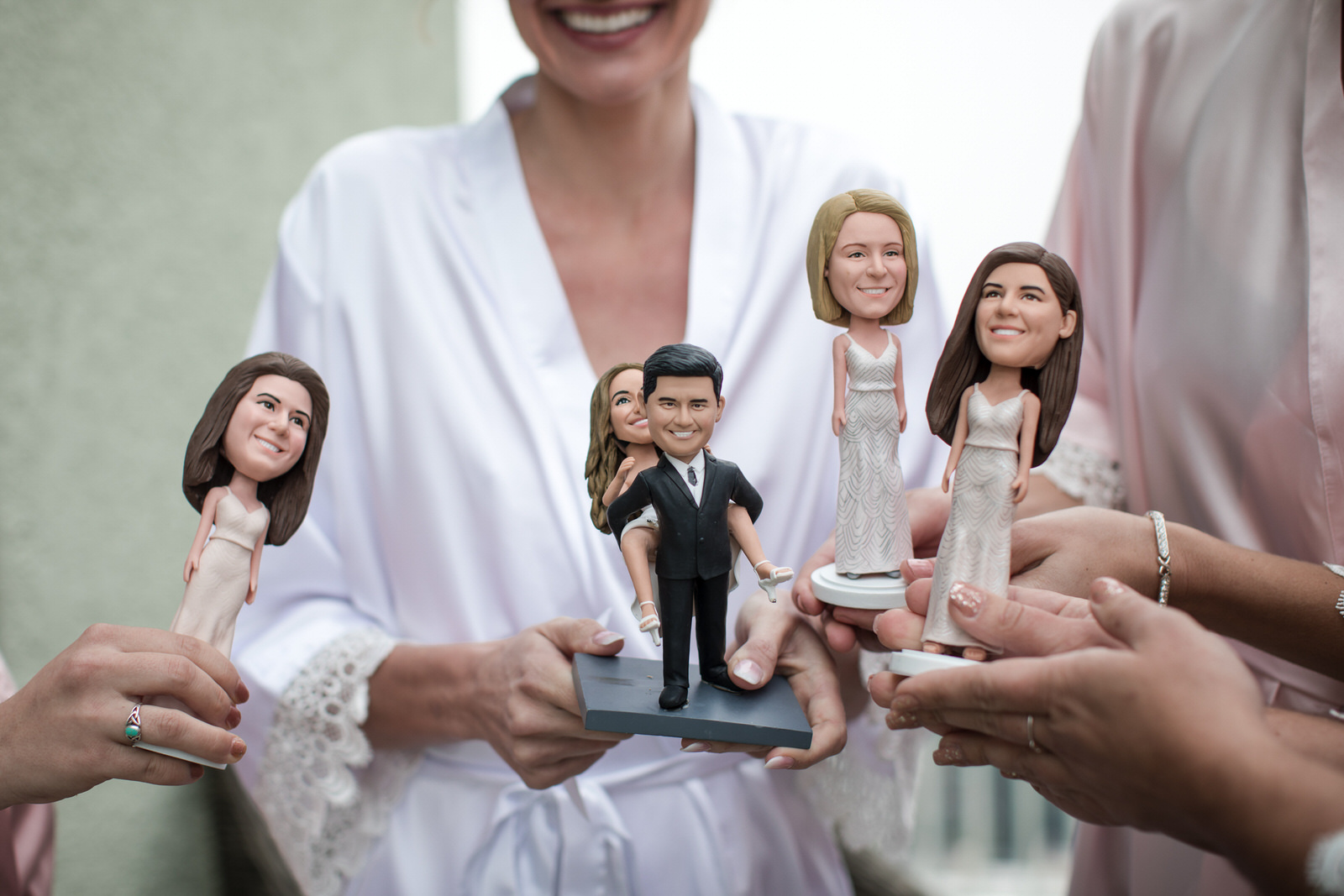 Fort-Lauderdale-Wedding-Photographer-Bridesmaids-Gifts-Bobble-Heads