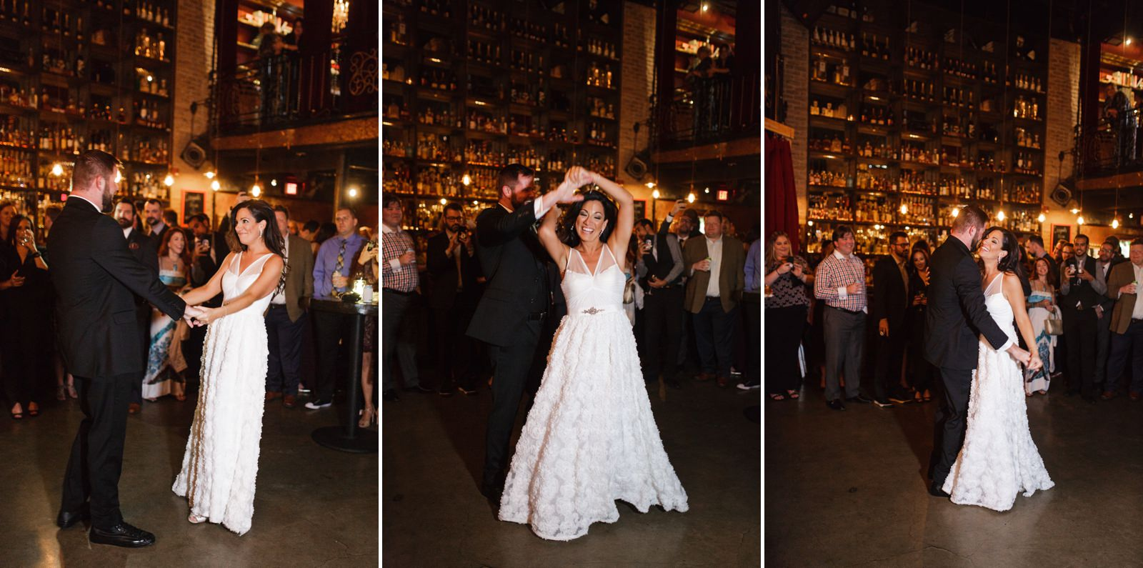 Ft-Lauderdale-Wedding-Photographer-First-Dance-Stache-Whiskey-Den