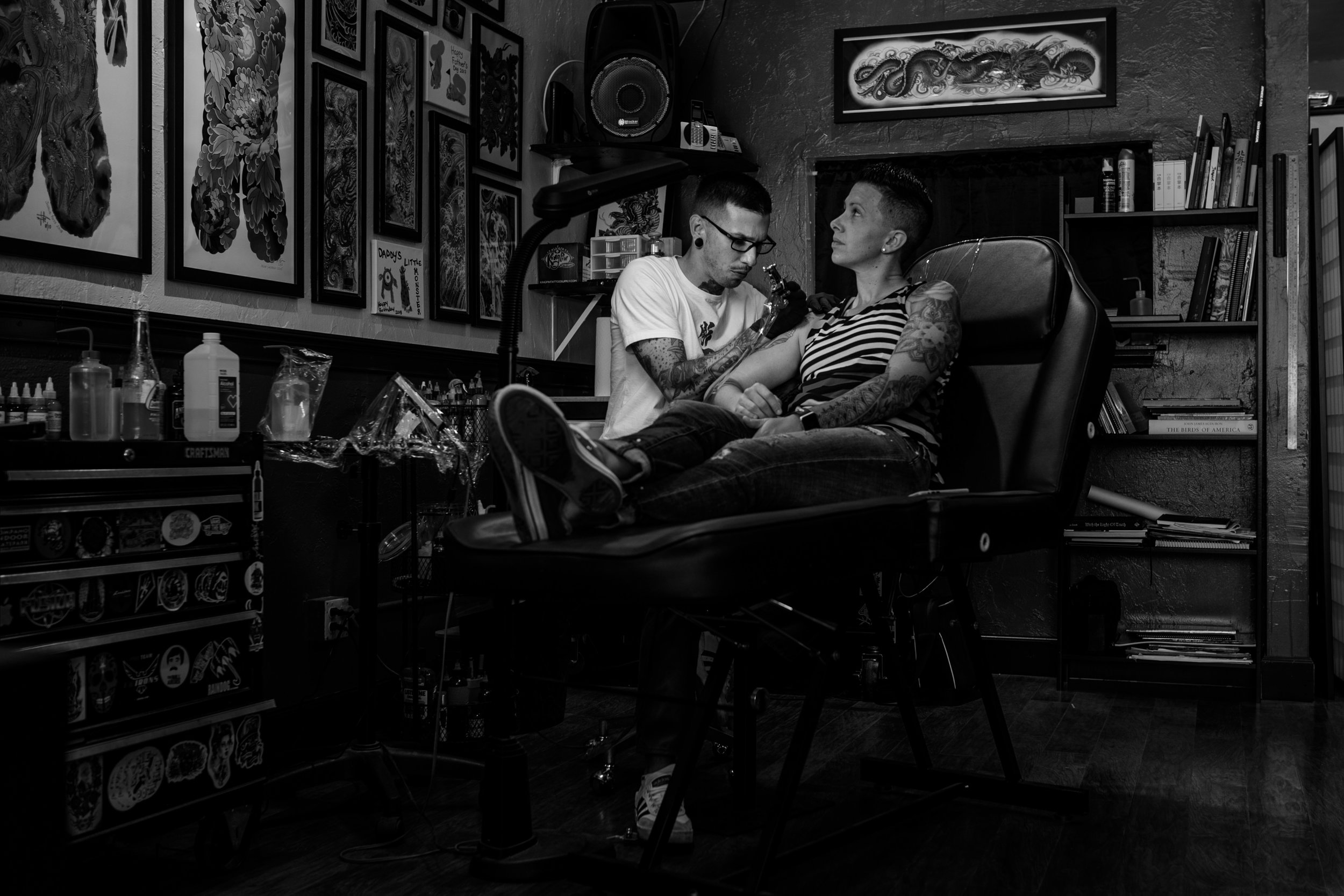 Florida-Tattoo-Shop-Documentary-Session-Twisted-Heart