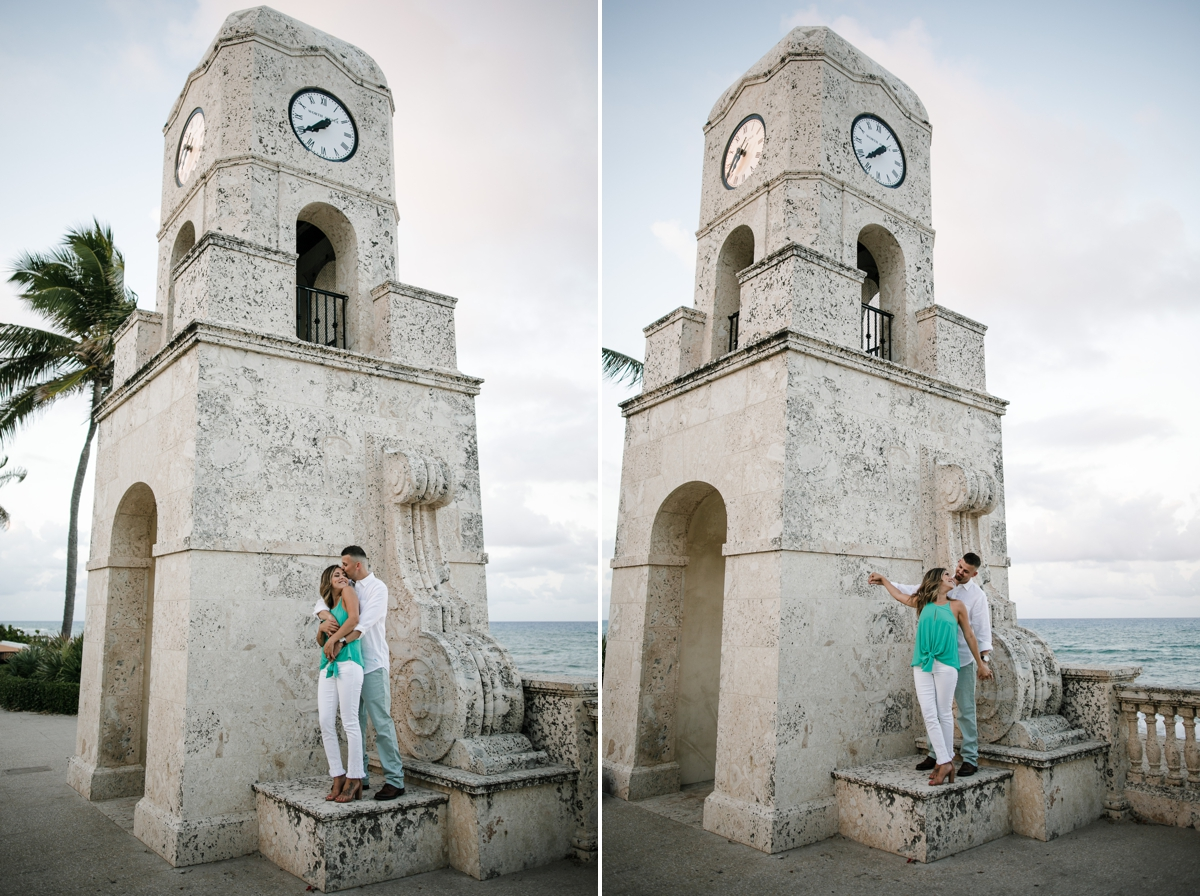 Worth-ave-clock-tower-engagement-session