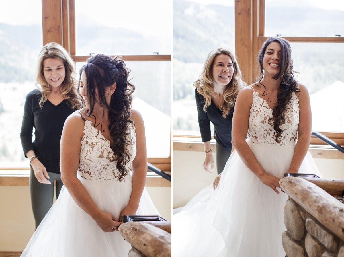Lodge-at-Breckenridge-Wedding-bride-mom-dress