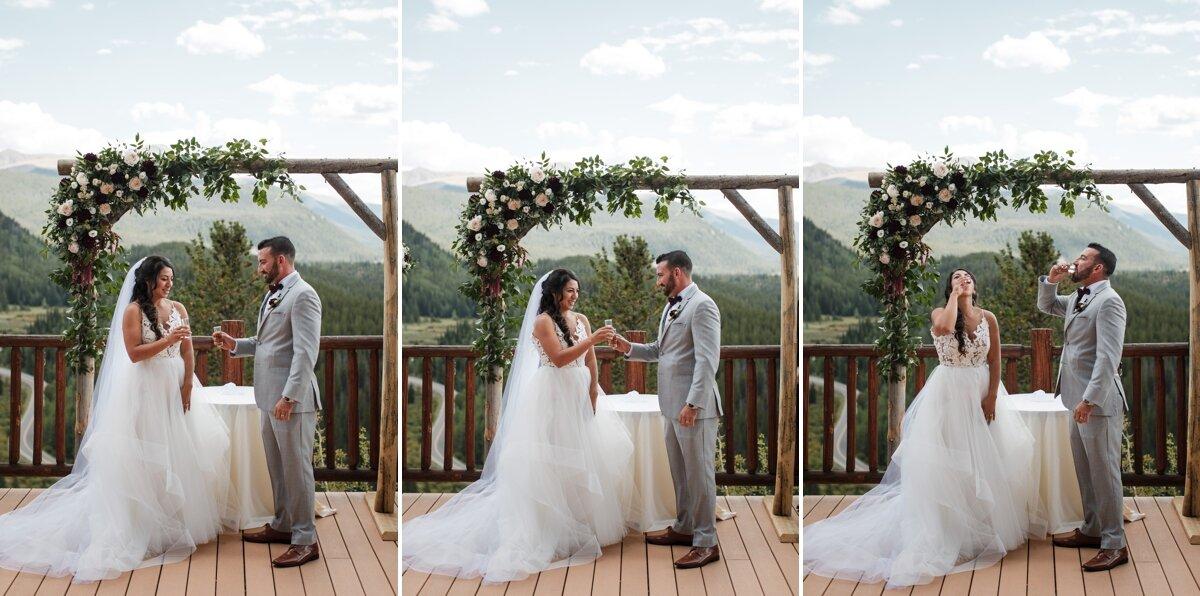 Wedding-ceremony-tequila-shot-colorado