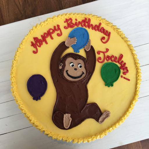 A25. Curious George Cake done in Buttercream ($15 Deco).JPG
