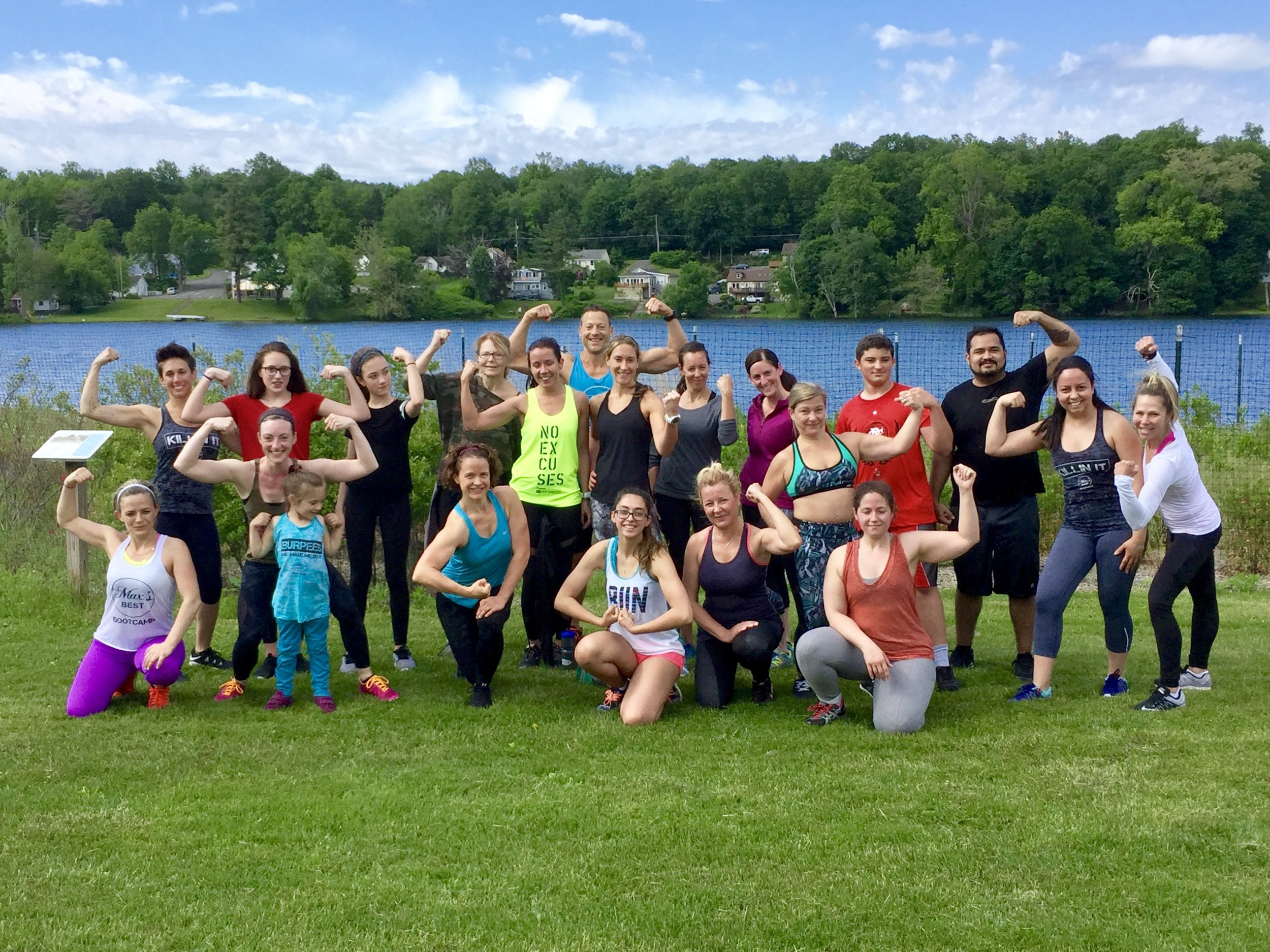 Lululemon bootcamp workout team flex photo