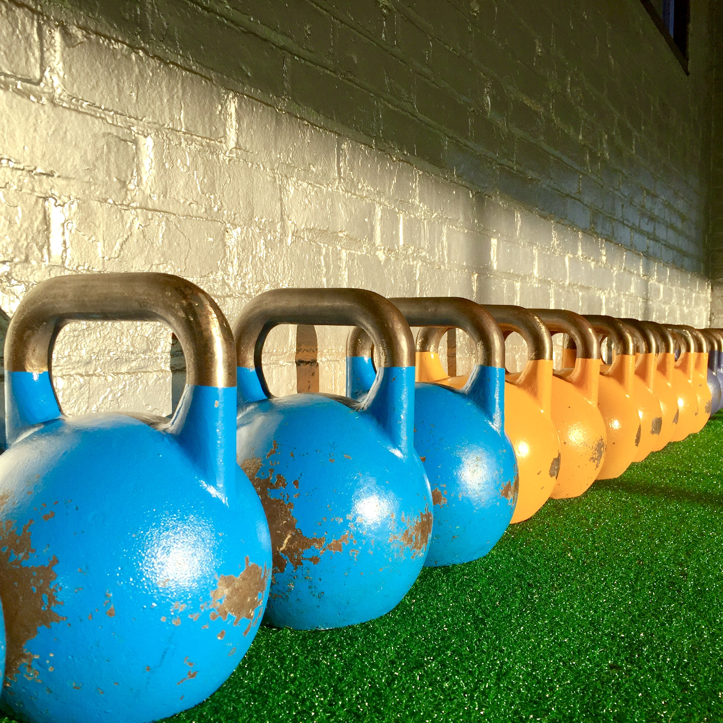 SINGLE OR DOUBLE? - They're both great options. Mix them both into your kettlebell workouts.
