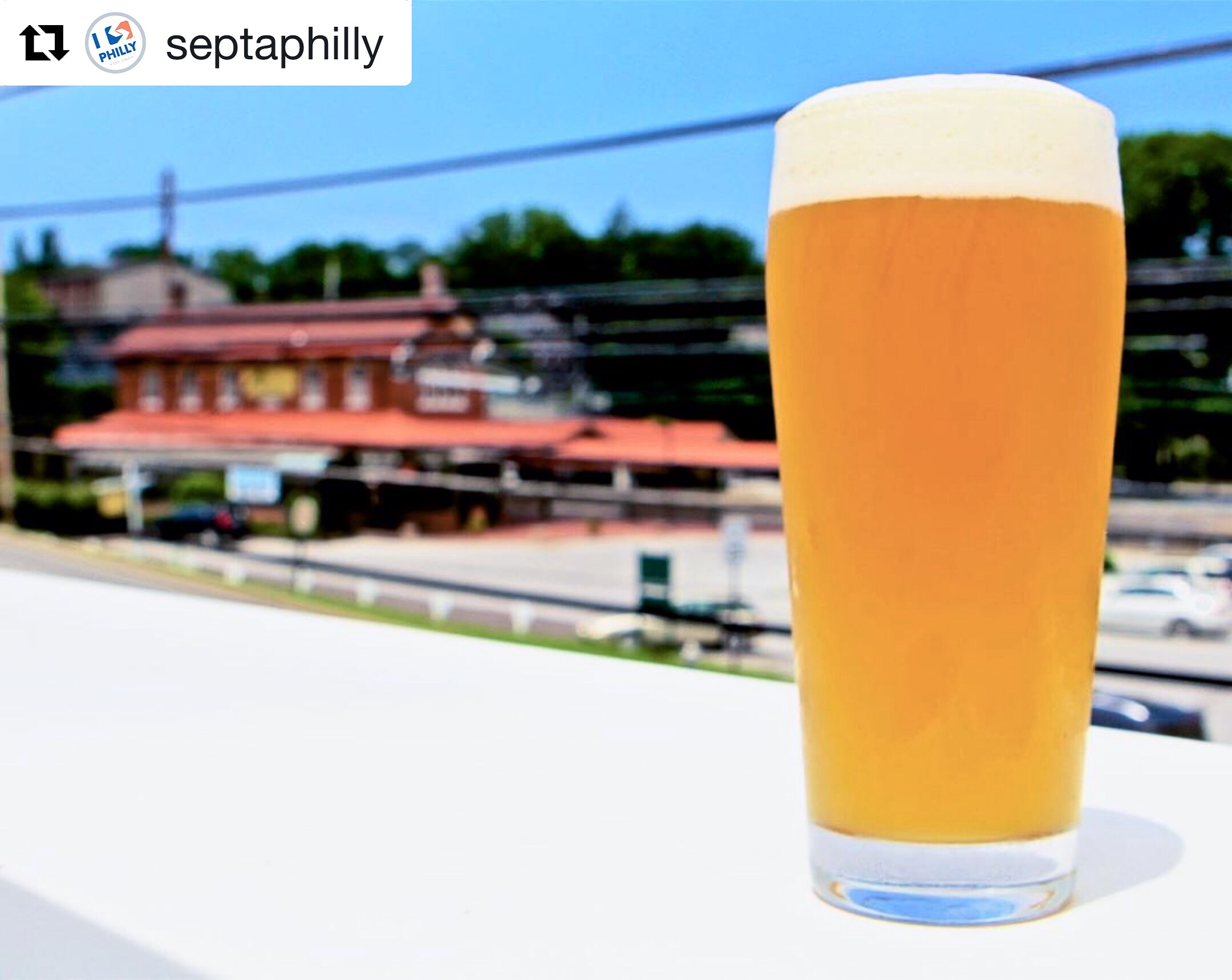 @septaphilly.La Cabra Brewing serves a wide range of craft beer brewed on-site alongside delicious Latin-inspired gastropub fare. Located on Lancaster Avenue, La Cabra is right across the street from Berwyn Station on the Paoli/Thorndale Line! Receive half off your first beer when you flash your SEPTA Key or Pass! #ISEPTAPHILLY #Perks