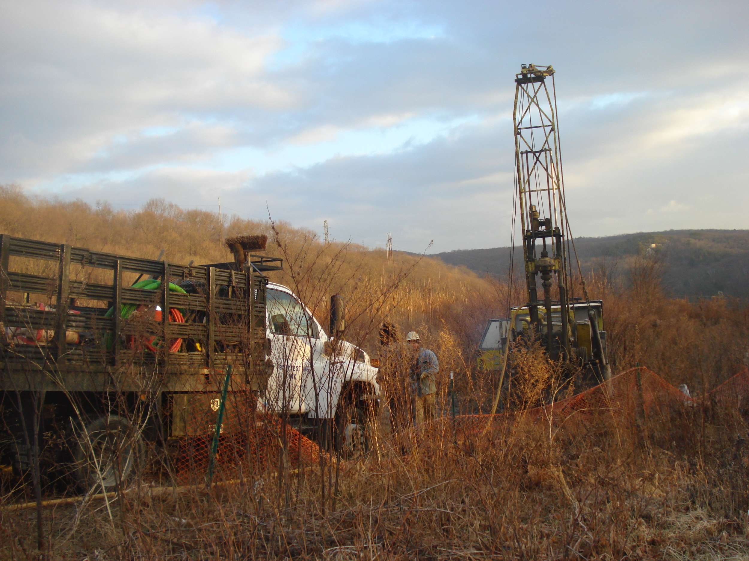 Phase III Site Investigation - Echo Lake Landfill - Watertown.JPG