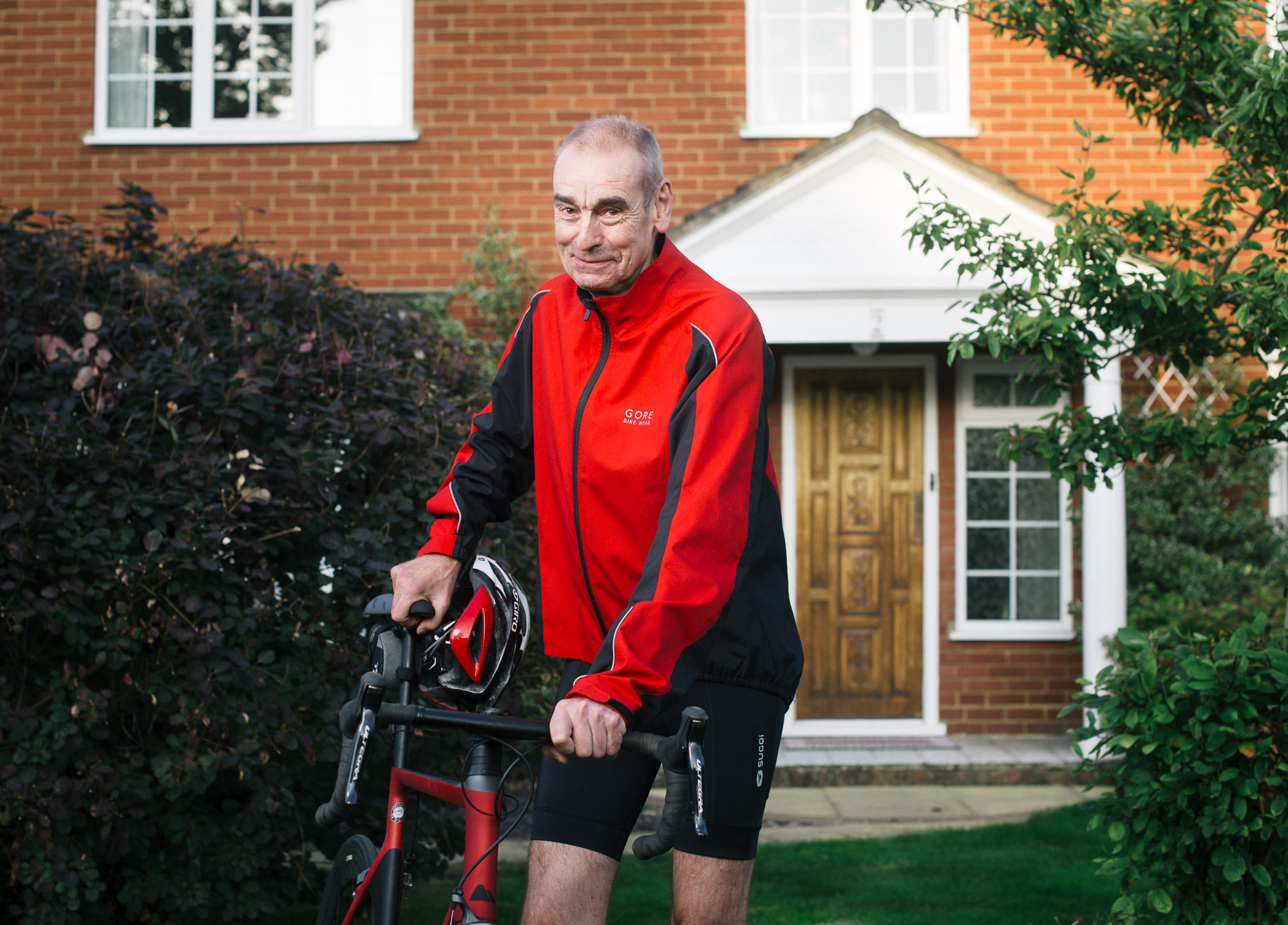 Chris Walker, photographed for the Times Money section at his home in Cranfield, UK. [ more… ]