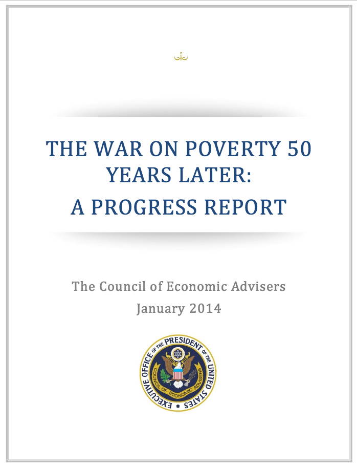 Gibbs' research catches the attention of the White House for  this report on the War on Poverty .