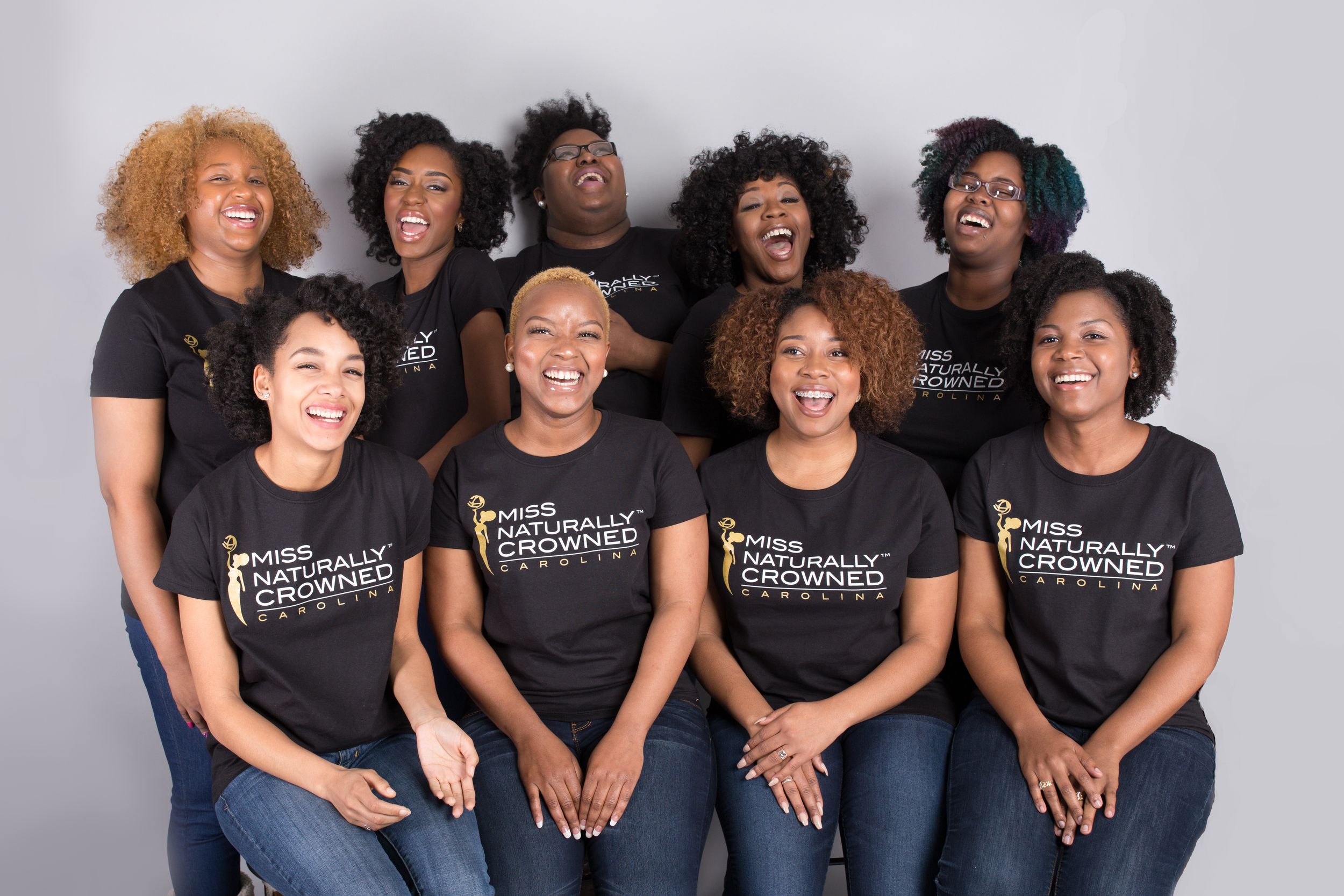 2016 Miss Naturally Crowned Carolina contestants | Latoya Dixon Photography