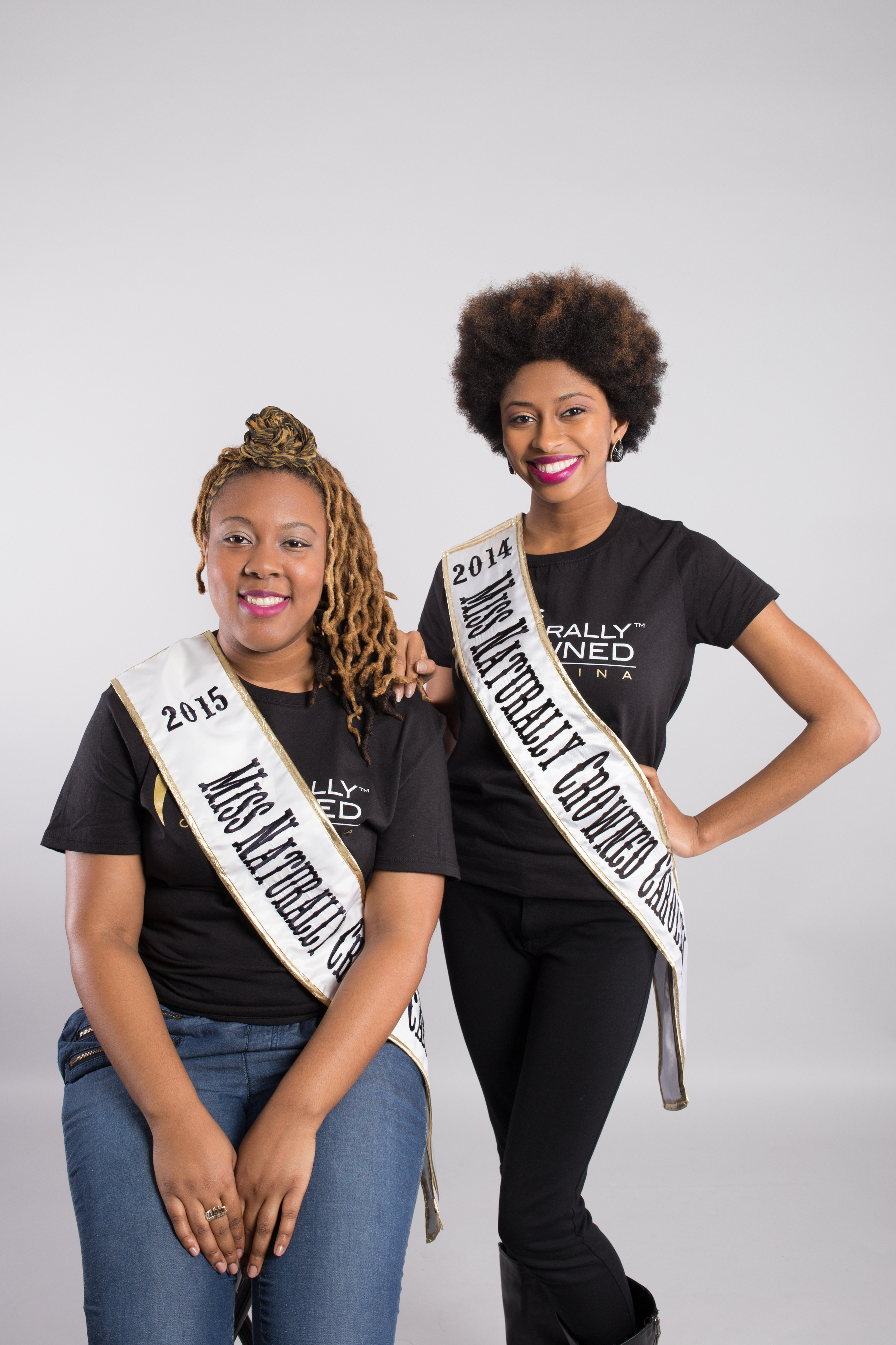 2015 & 2014 Miss Naturally Crowned Carolina, Tra'Shon Howard & Chanelle Johnson | Latoya Dixon Photography