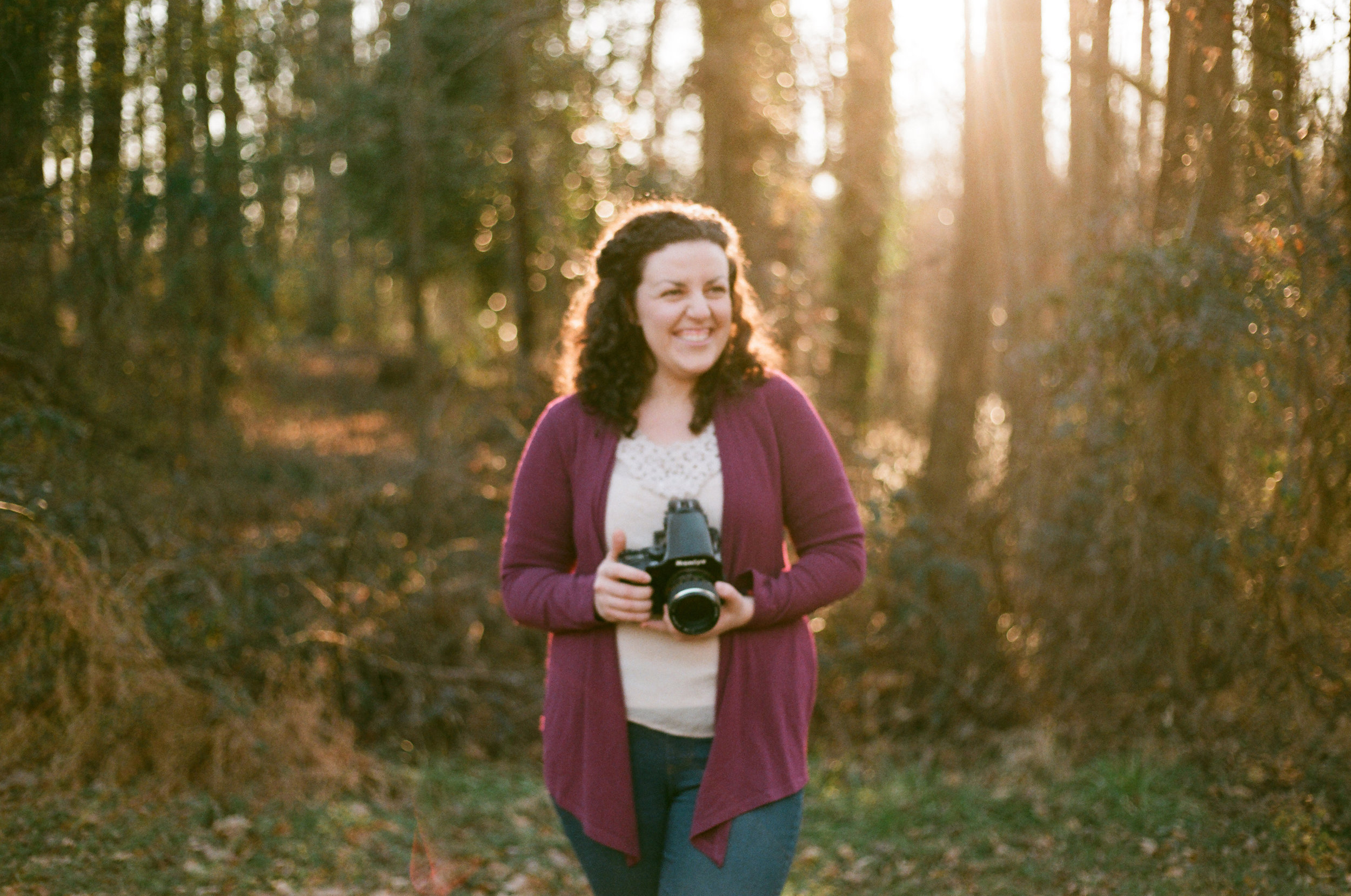 This one is out of focus, but I still love it. And Hannah's Mamiya.