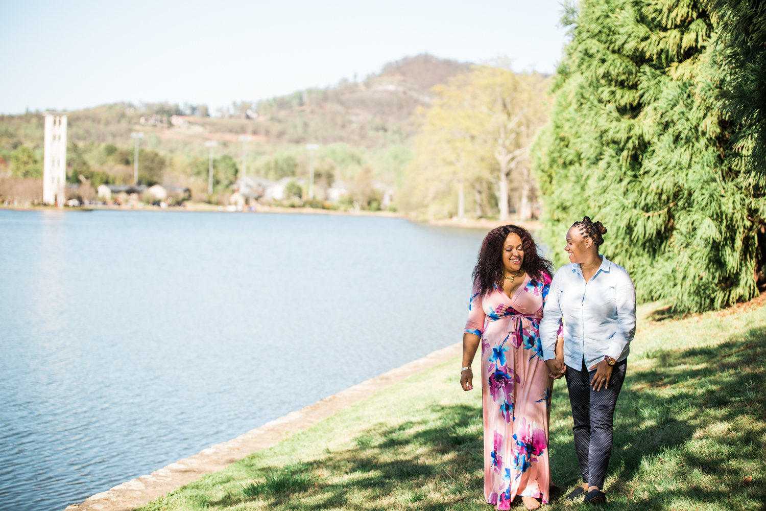 furman university engagement photography latoya dixon photography
