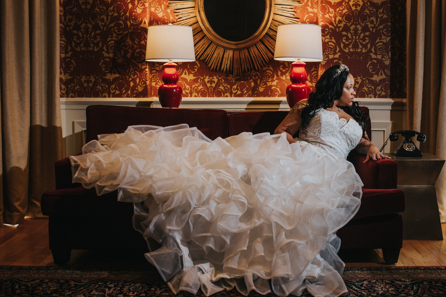 no stress calm on wedding day latoya dixon photography
