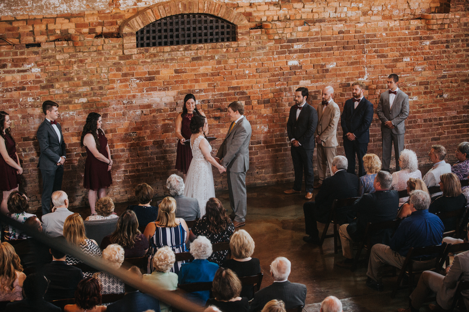 old cigar warehouse wedding greenville sc latoya dixon photography