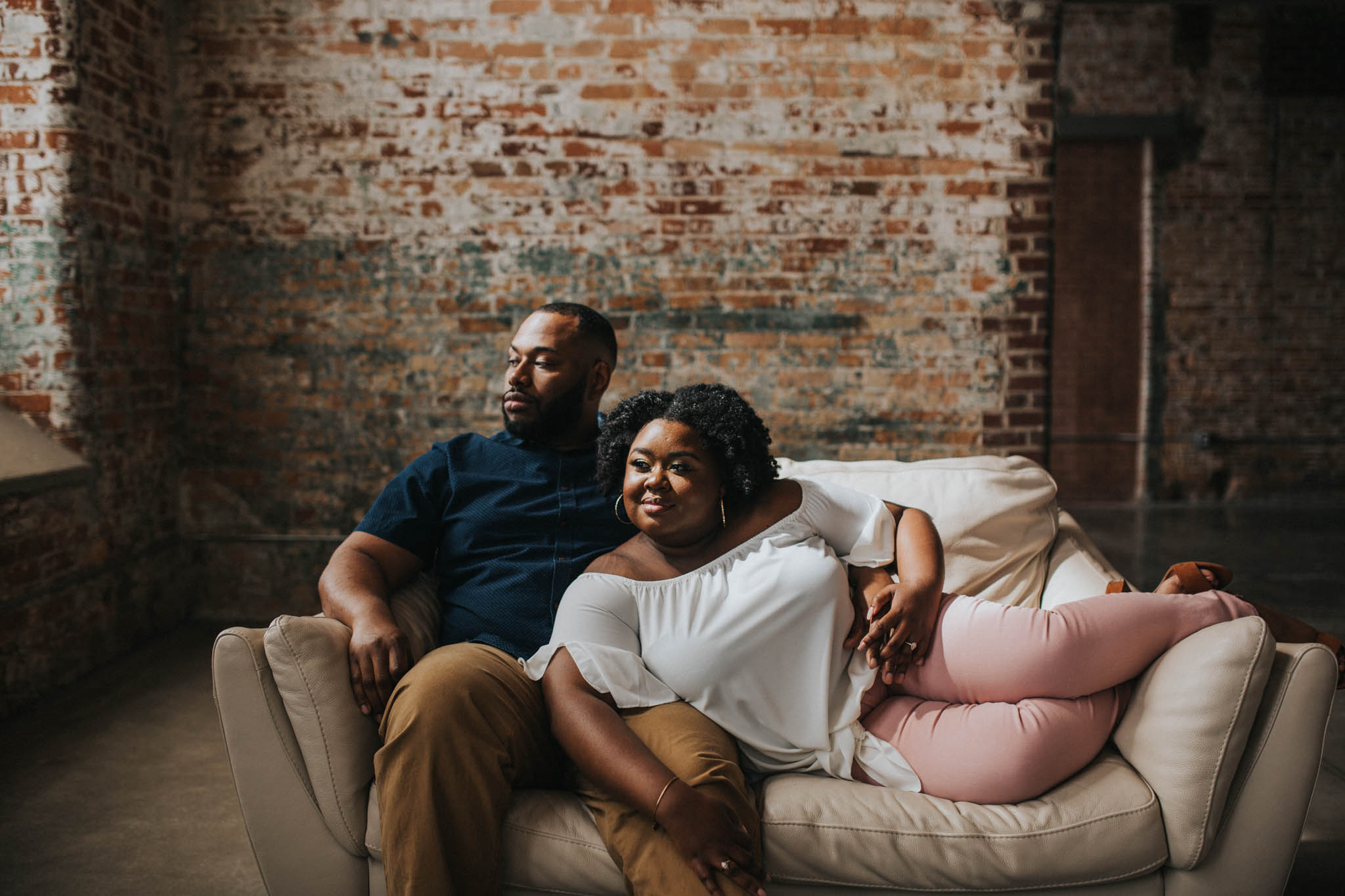Greenville Engagement Photographer Studio