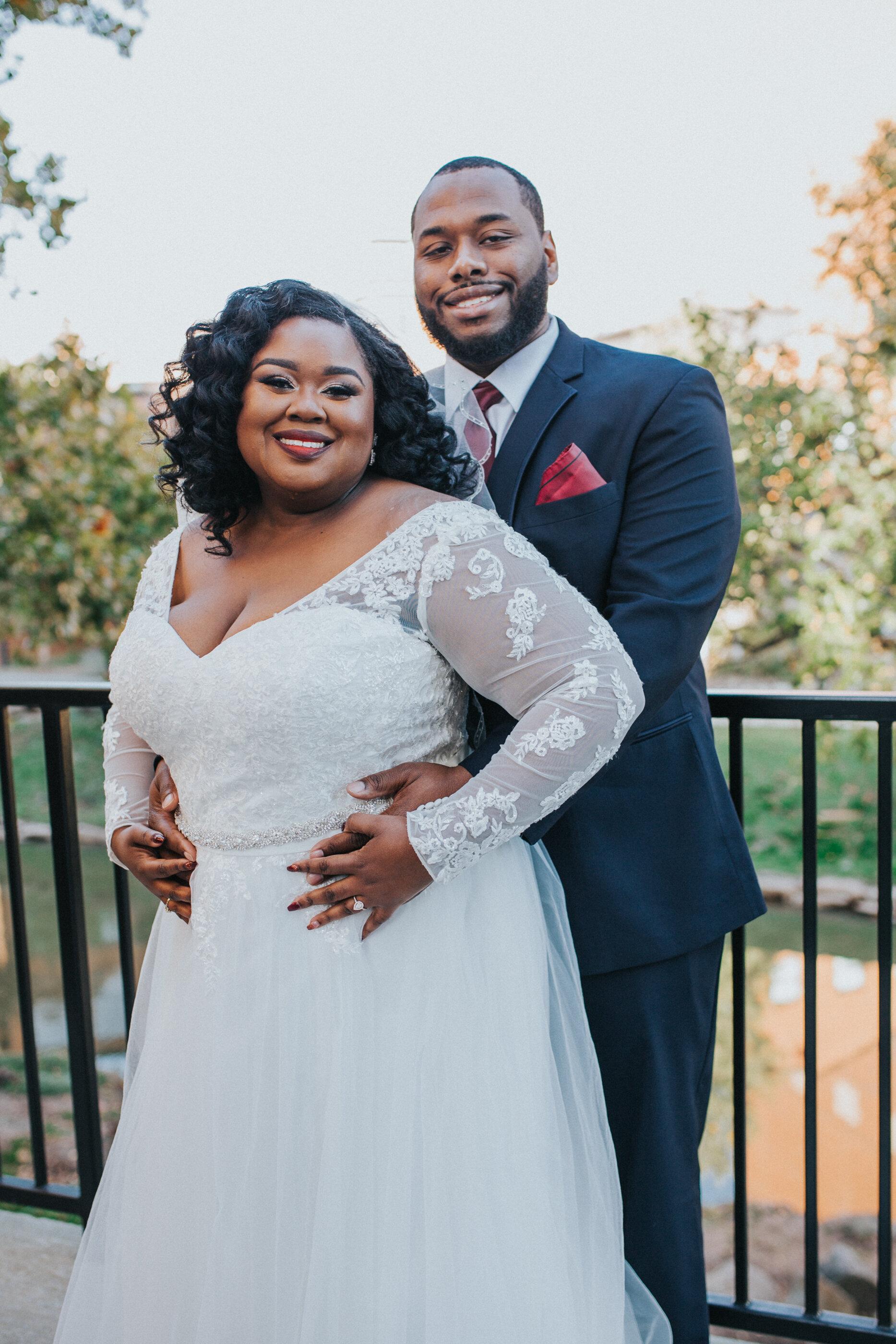 First Look Artisan Traders Wedding- Greenville SC