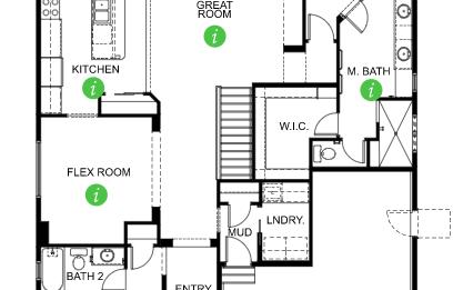 Keller Homes Westport Floor Plan