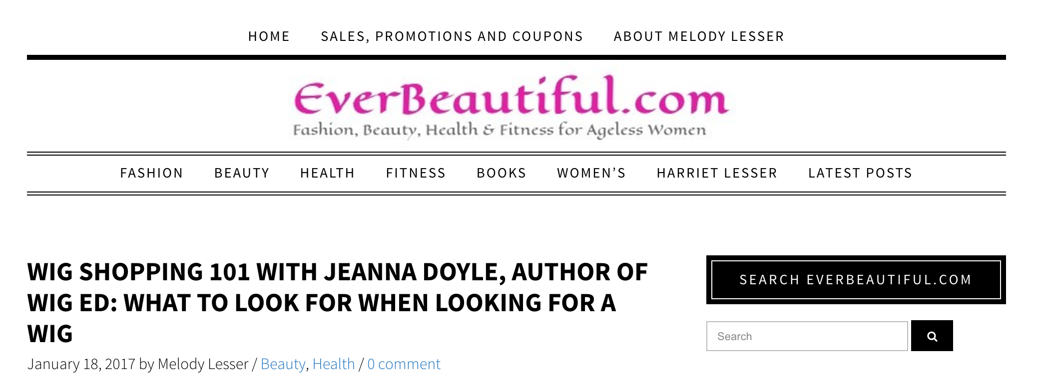 www.everbeautiful.com