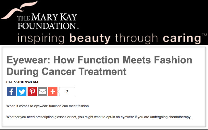 Mary Kay Foundation blog entry guest-written by Jeanna Doyle    READ MORE...