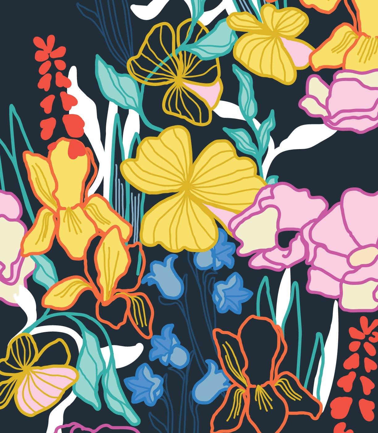 Tropical Floral Gardens