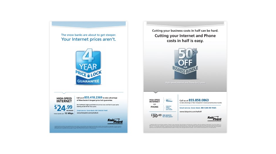 Print - Residential and Business offer