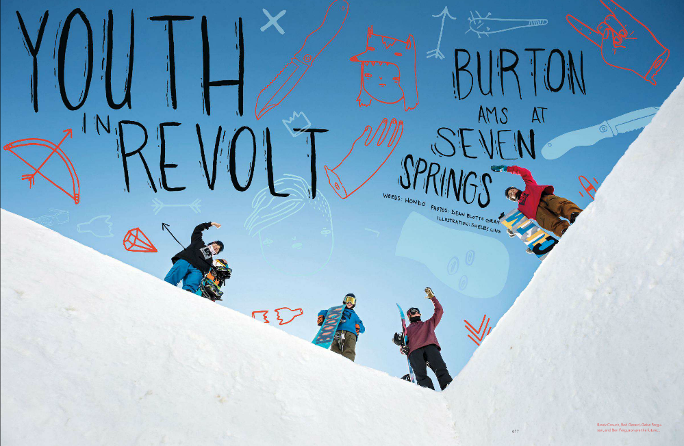 Youth In Revolt- TransWorld SNOWboarding January 2014
