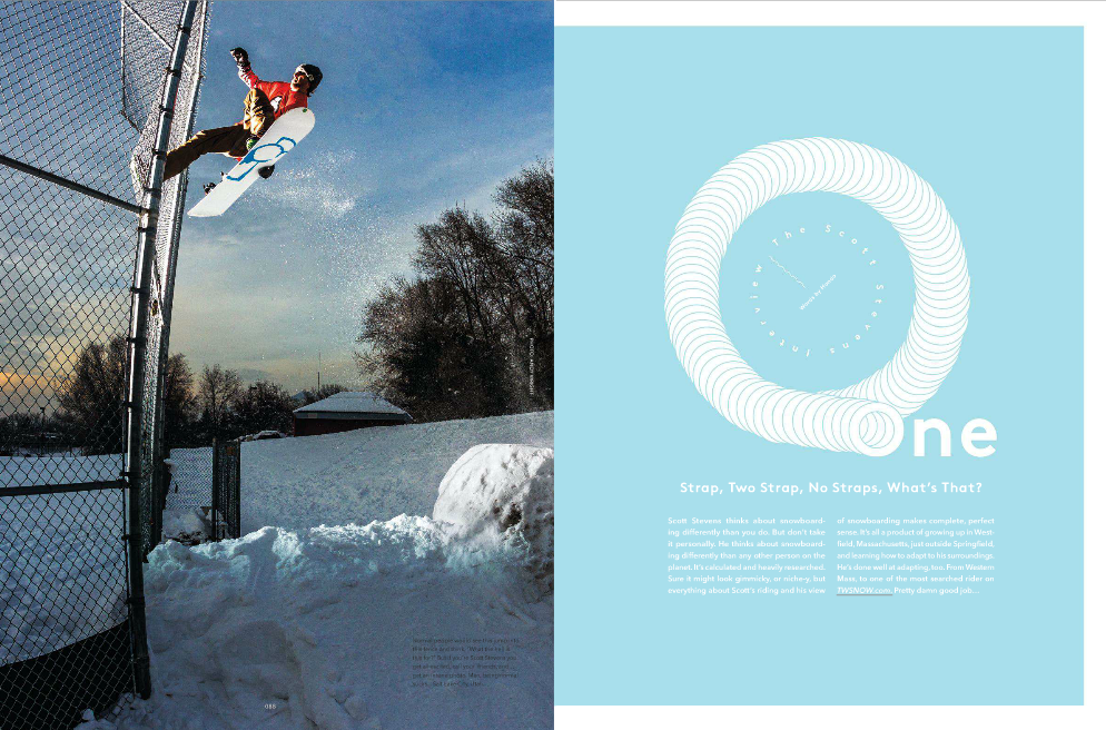 The Scott Stevens Interview- TransWorld SNOWboarding October 2013
