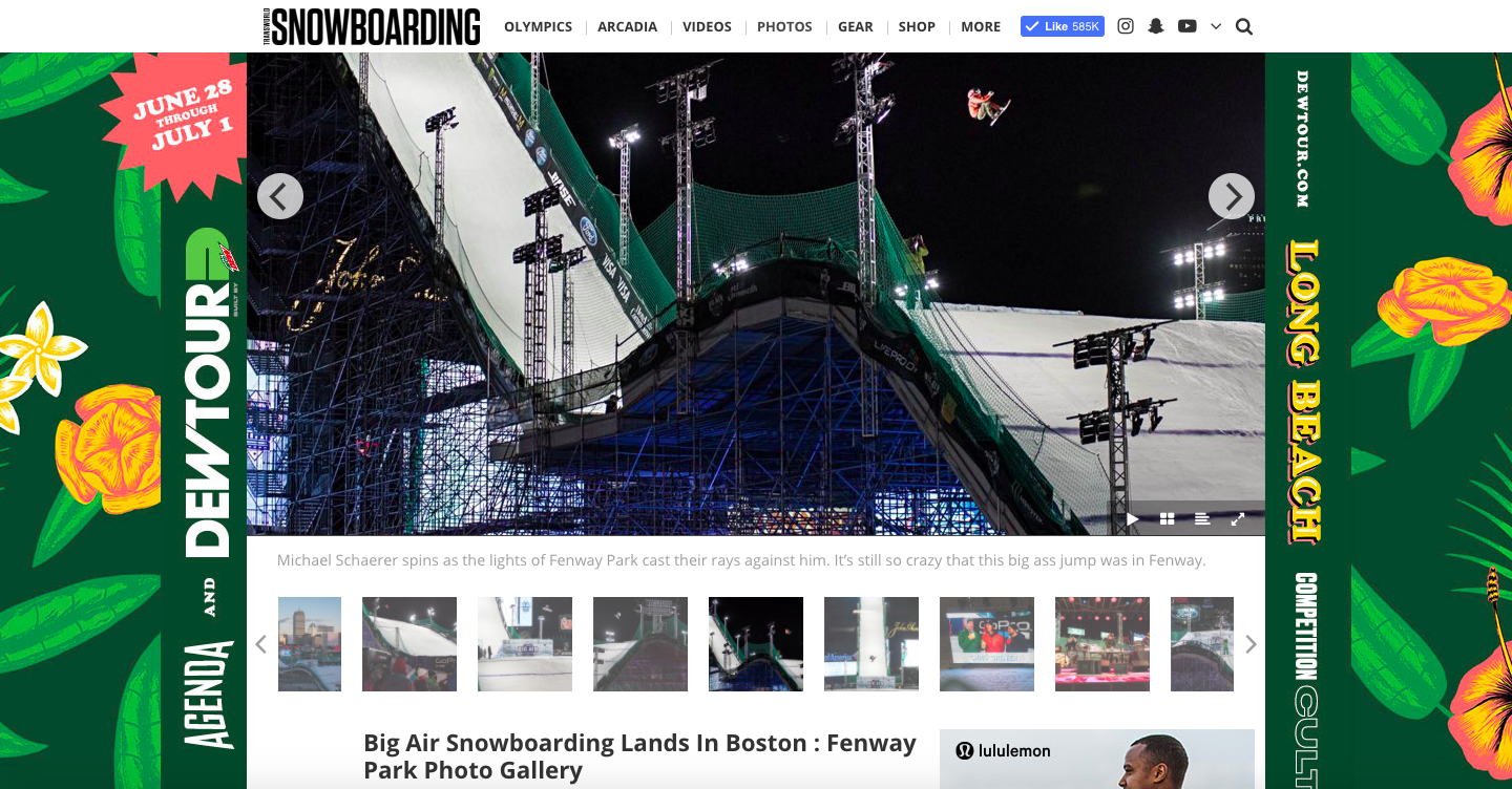 Big Air Snowboarding Lands In Boston- TWSNOW.COM