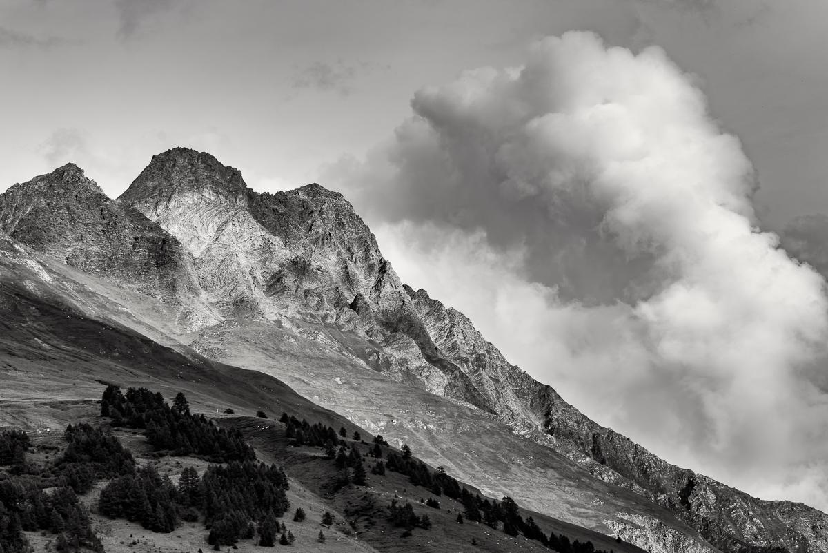 Mountainside, Switzerland - Nikon D810, Nikon 70-200 f/2.8 @ f/8 1/250sec ISO 64 95mm. Manfrotto carbon fibre tripod, and ball head.