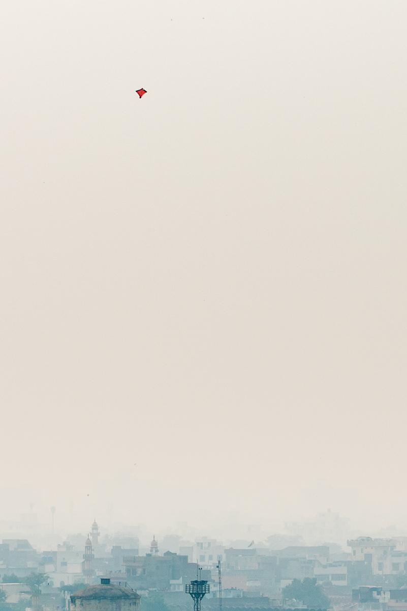 Kite above Jaipur, India - Nikon D810 | Nikon 24-70mm f/2.8 | 1/500 at f/7.1 70mm ISO 64