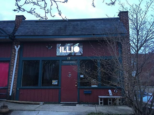 ILLIO has a sign now! The shop is open today, 12:30-7. . . . #books #bookstore #bookspace #illio #itlookslikeitsopen