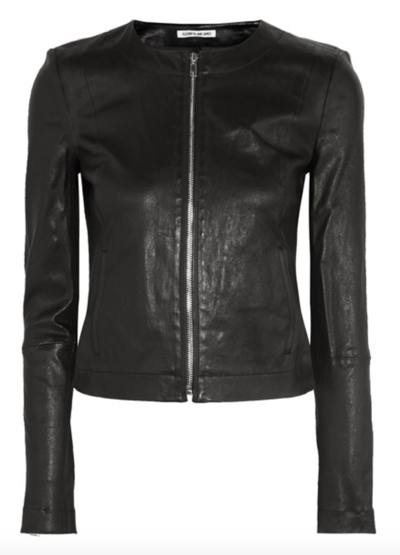 Timeless Leather Jacket