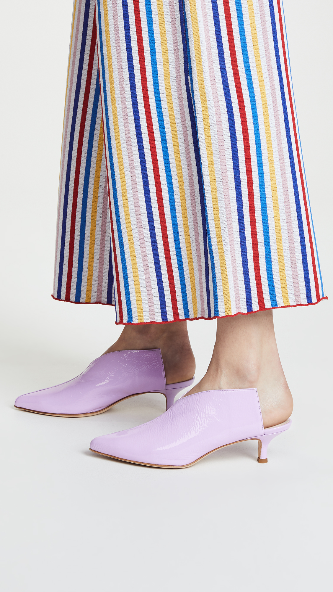 Bold Colors, Violet mules.jpg