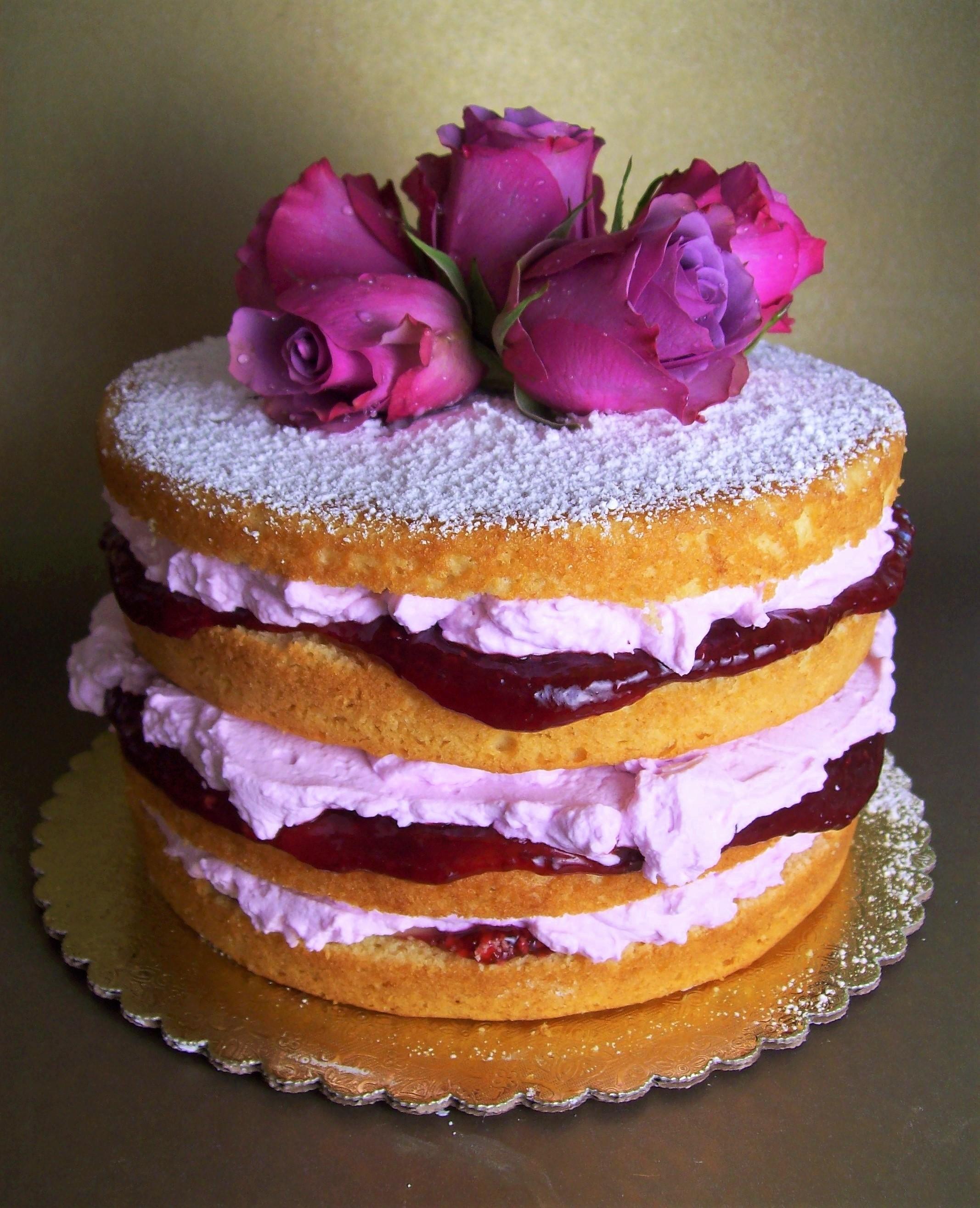 Lavander's Cake  by Debra Ginsberg