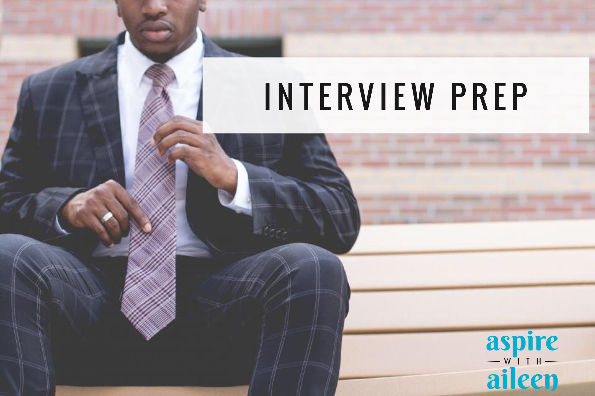 interviewing help aspire aileen career coaching