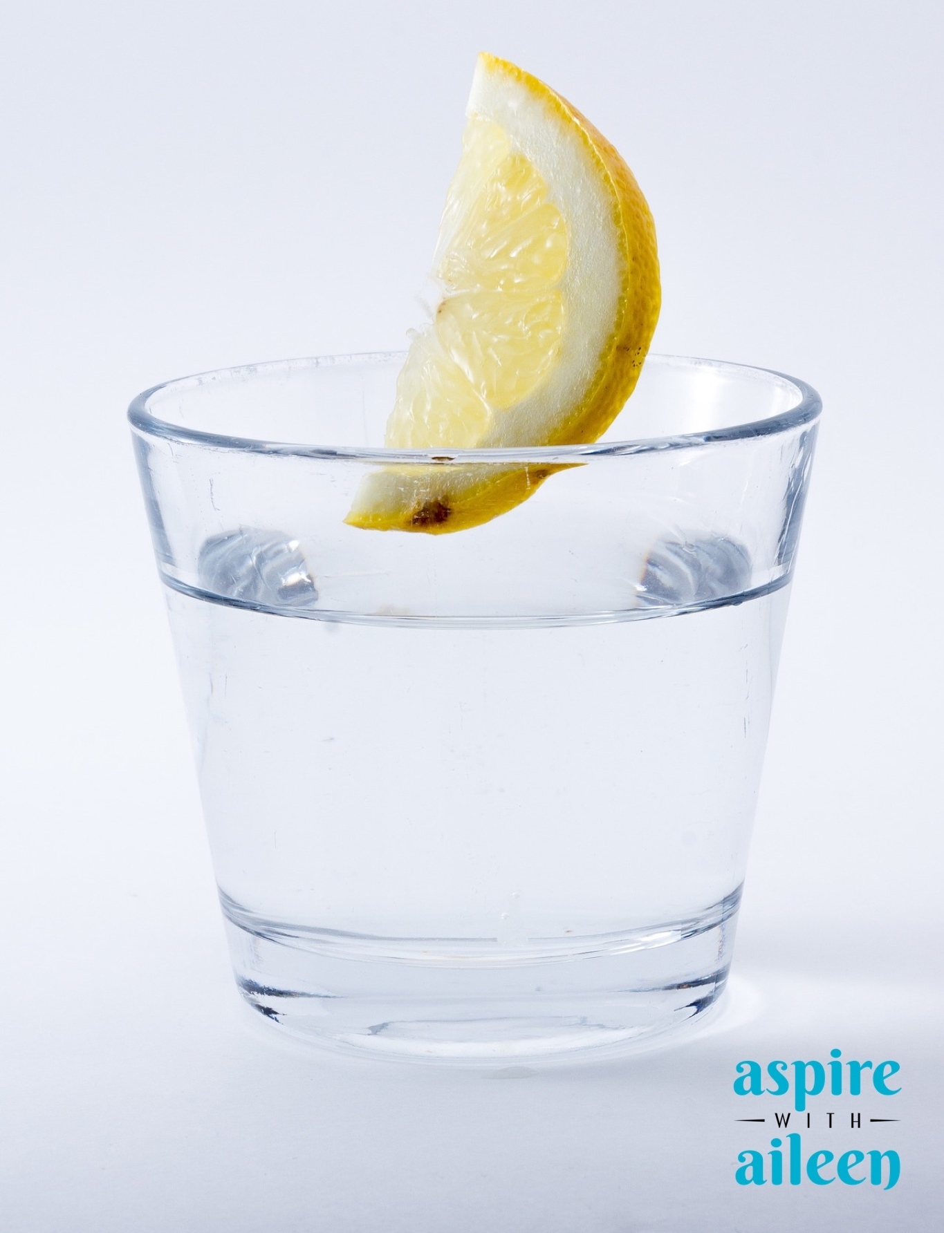 I try to start every day with hot water and lemon - even when I travel!