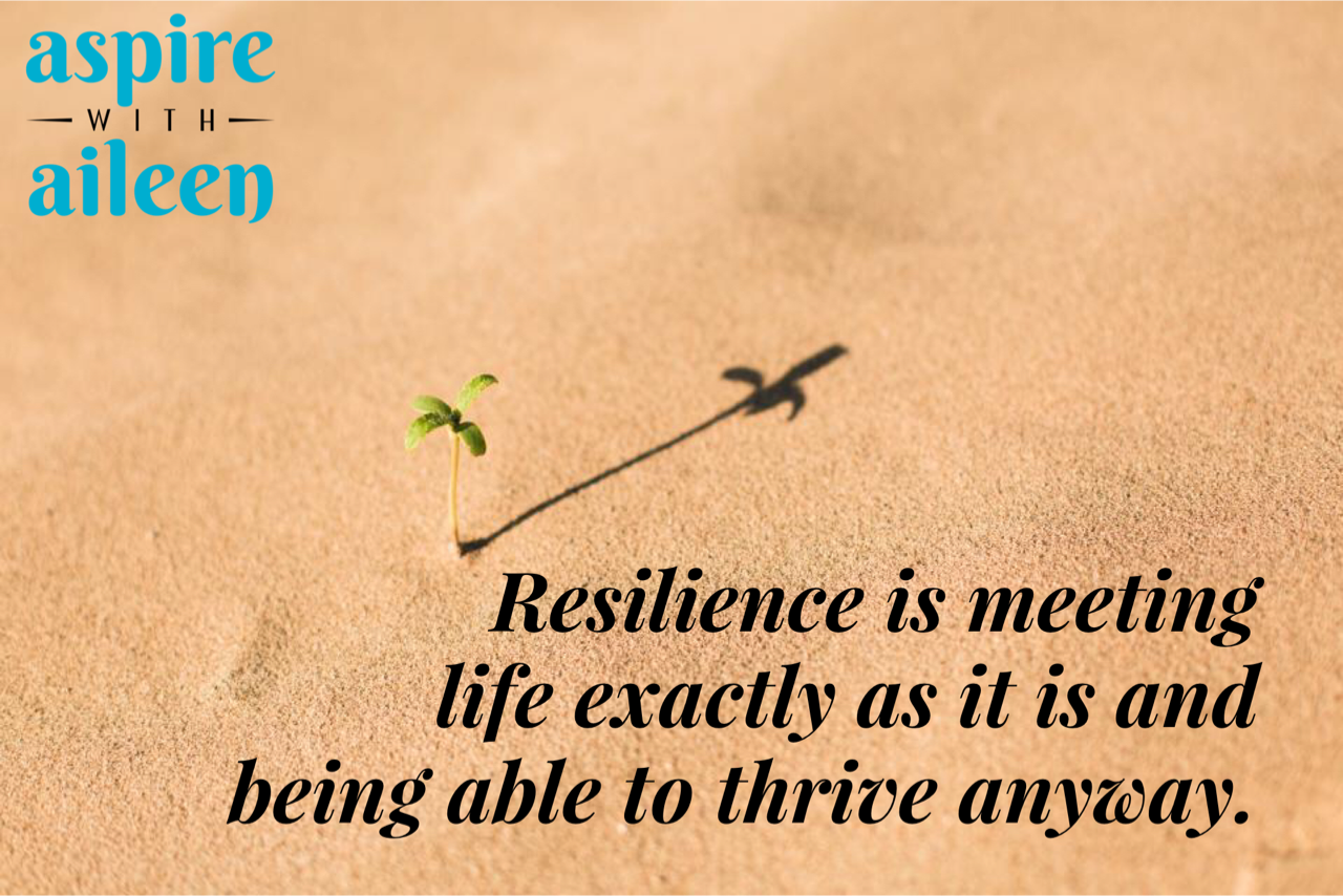 I heard this definition from Jennifer Racioppi while listening to a webinar on emotional resilience