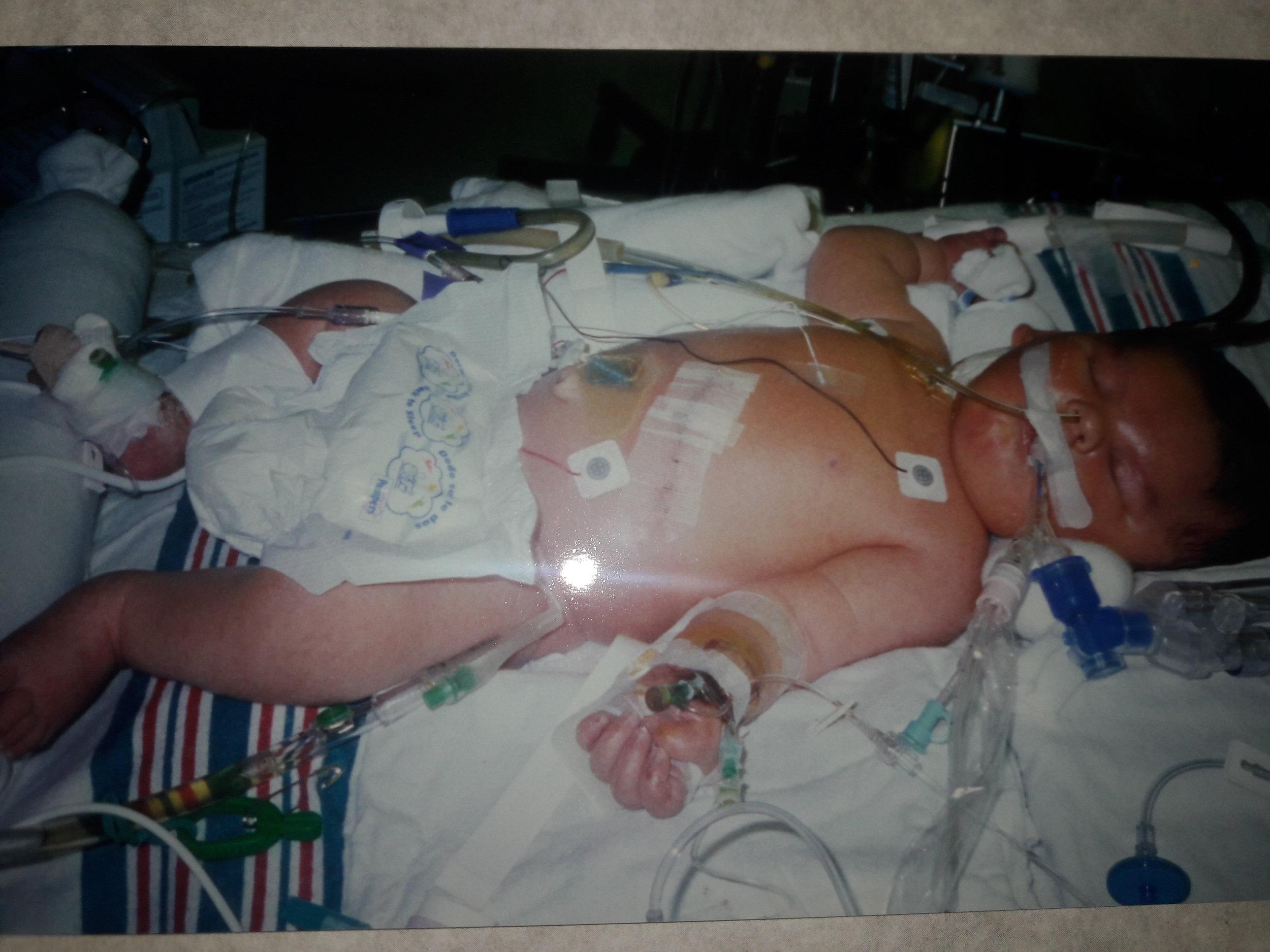 Jack 17 years ago, as a newborn