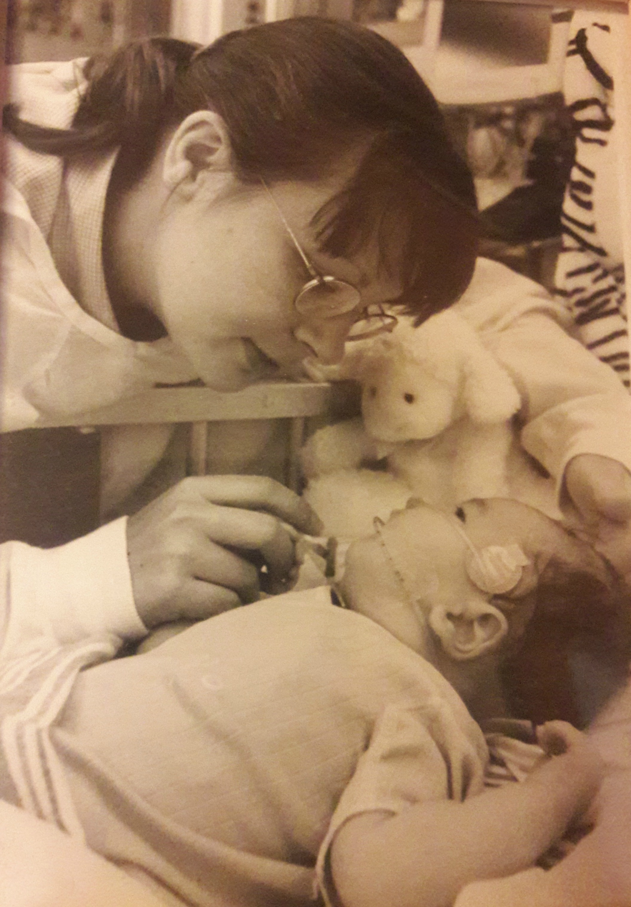 Cathy and Jack in the NICU