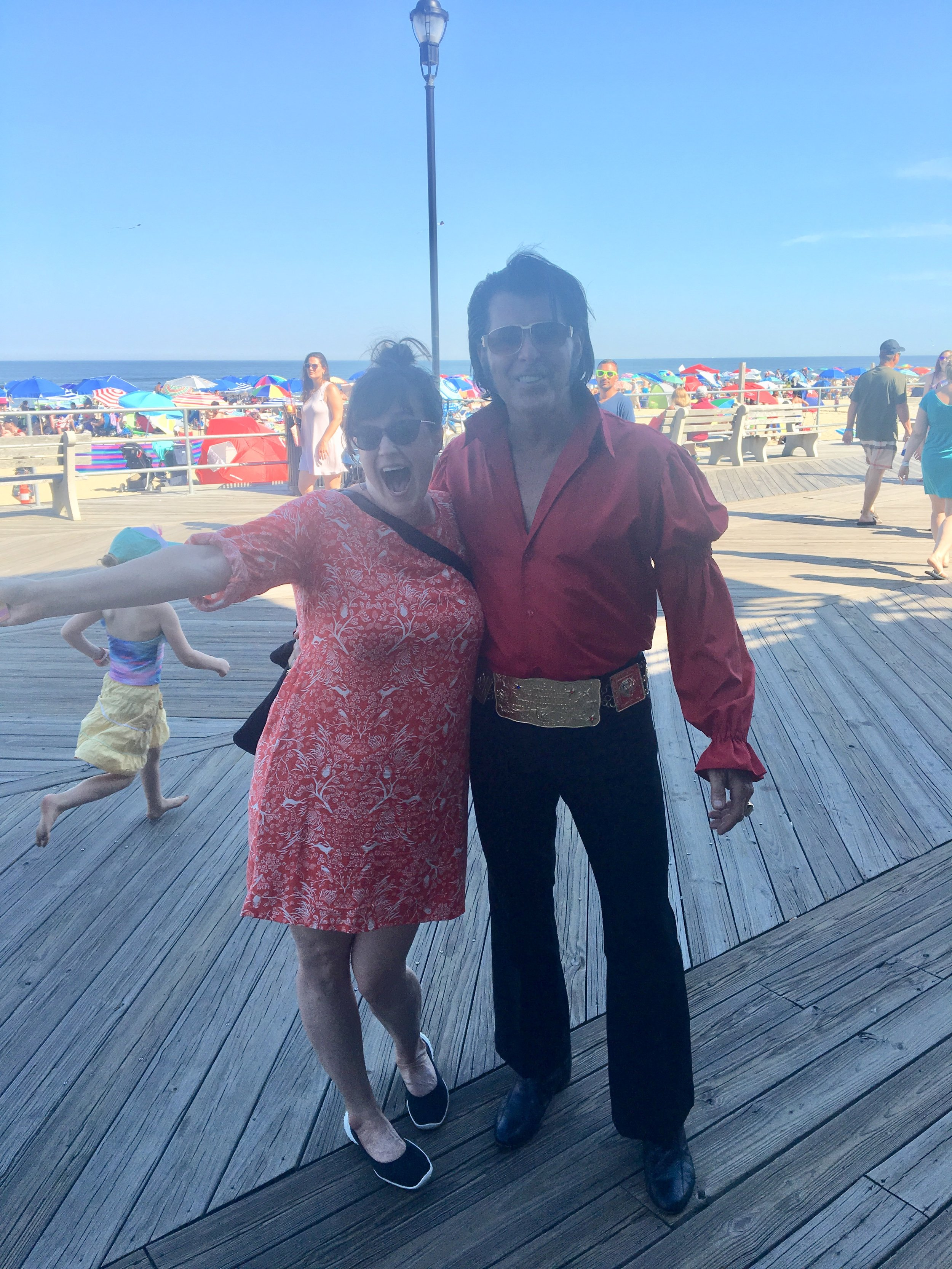 What it looked like when I met Richie in Asbury Park.  June 2018