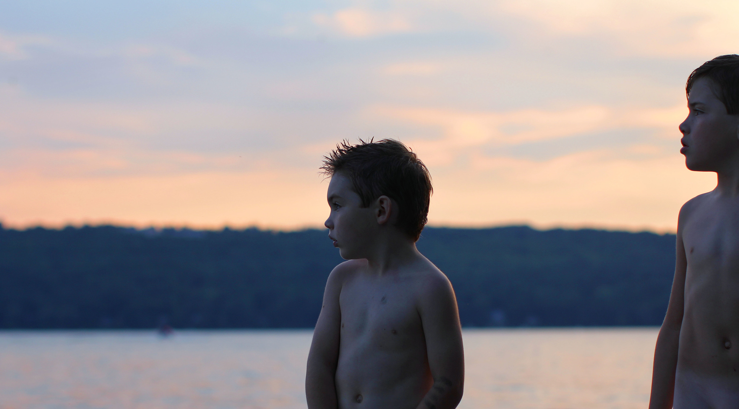 Boys & sunset.JPG