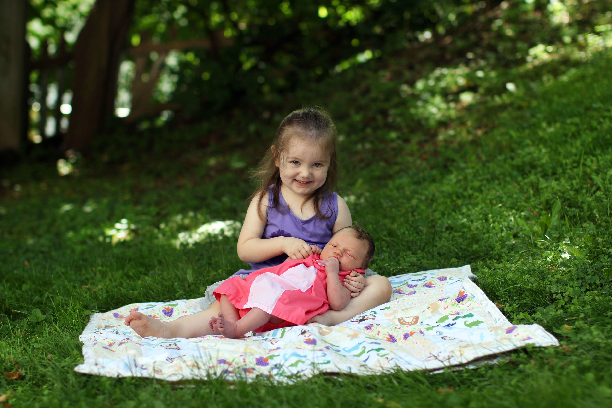 Sisters lawn smiles Print .JPG