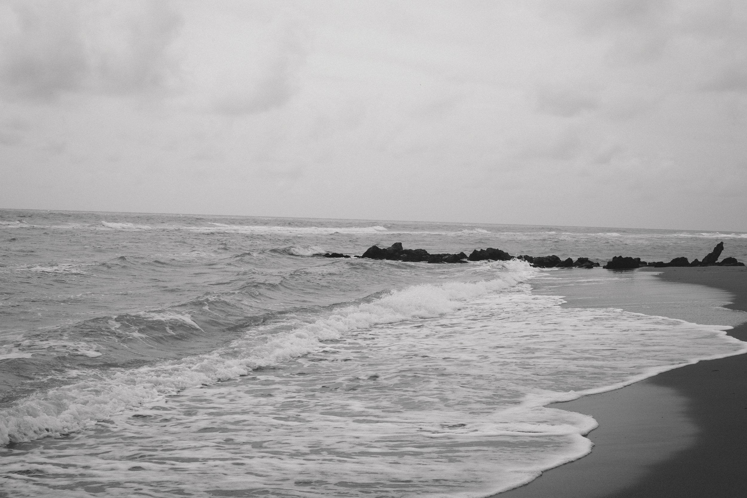 A windy Caspersen beach -